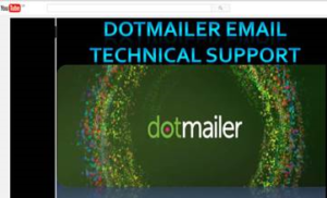 Fake dotmailer technical support