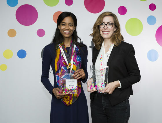 Well done to Asana, who scooped two awards - including 'Email marketer of the year' - won by Reigan (pictured left)