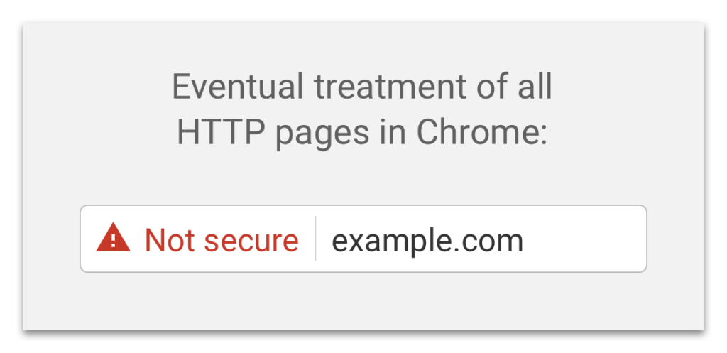 Chrome non-SSL