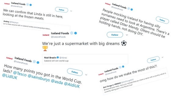 Iceland tweets