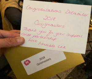 MI Quizmasters winners