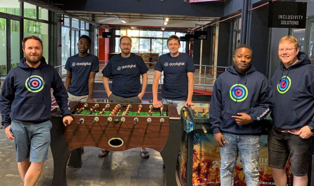 dotdigital team in Cape Town