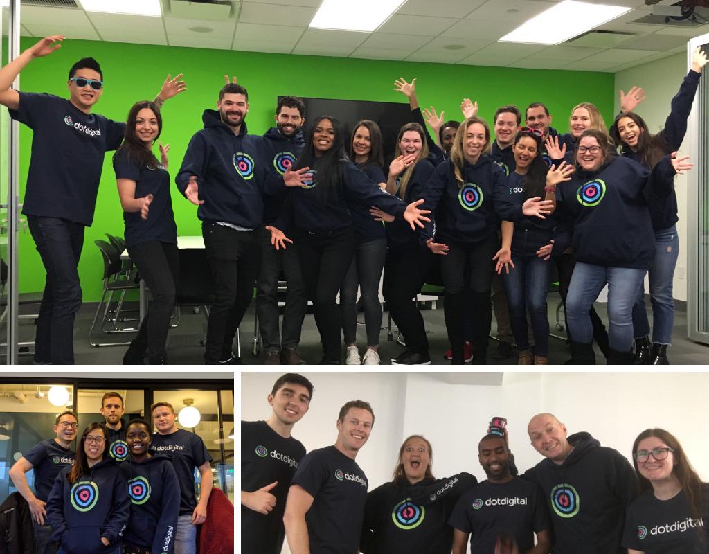 dotdigital teams NY, LA, OZ