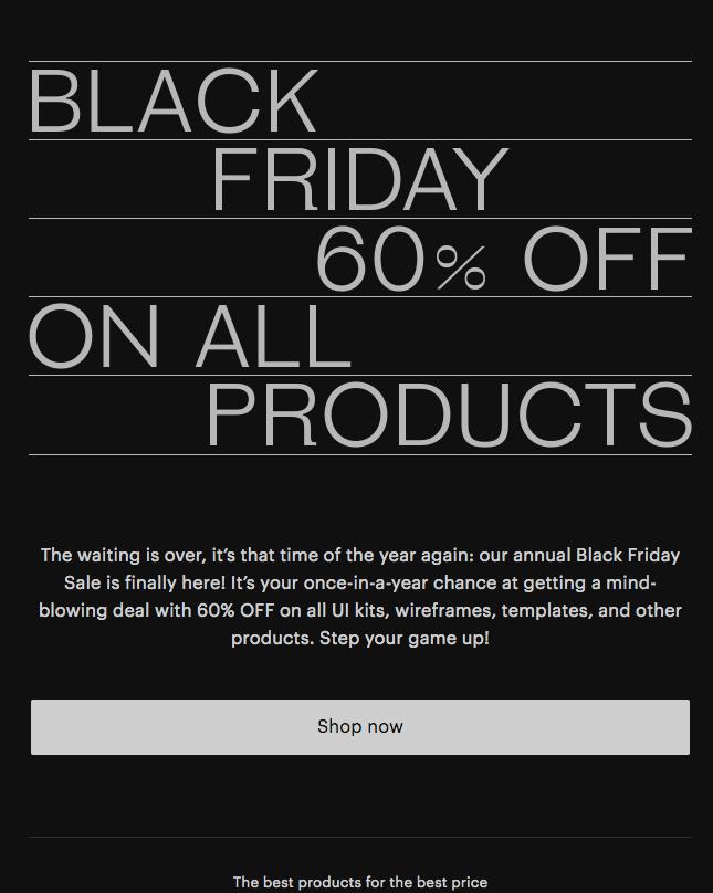 Great Simple Studio Black Friday sale