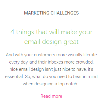 Make email design great