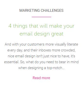 Make email design great