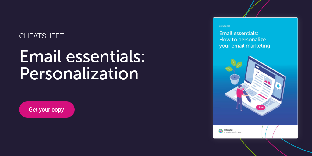 Email essenitals: how to personalize your email marketing CTA downoad
