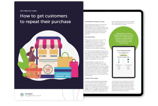 Repeat purchase marketing