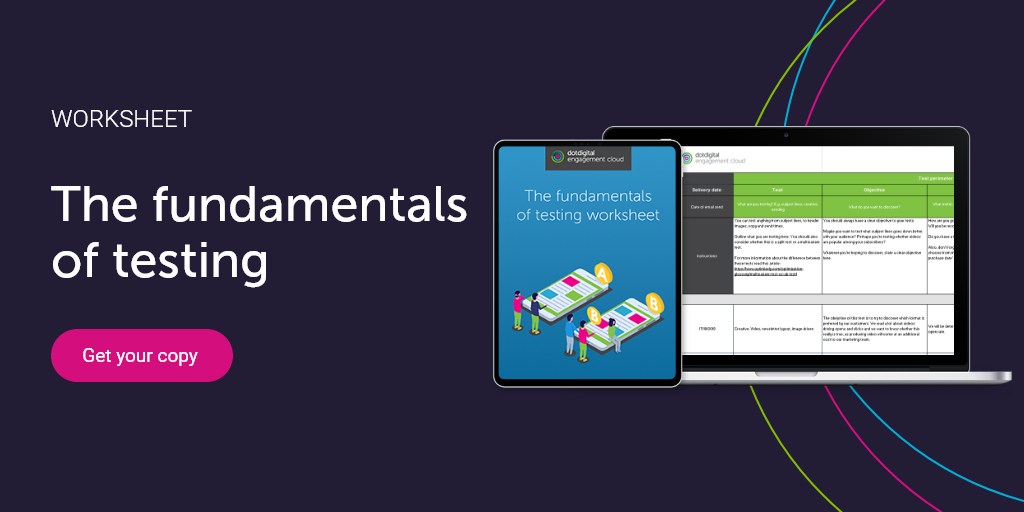 The fundamentals of testing  call to action, download now