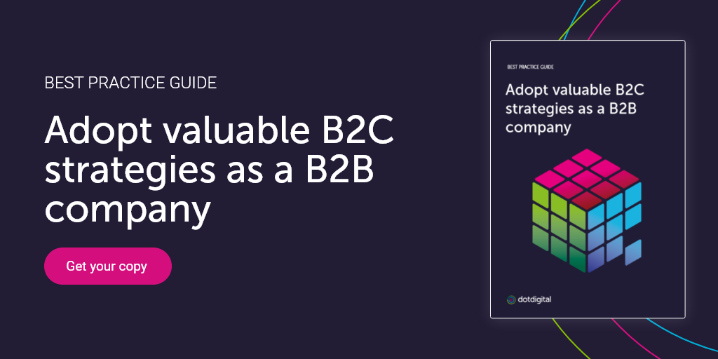 Download best practice guide on B2B marketing
