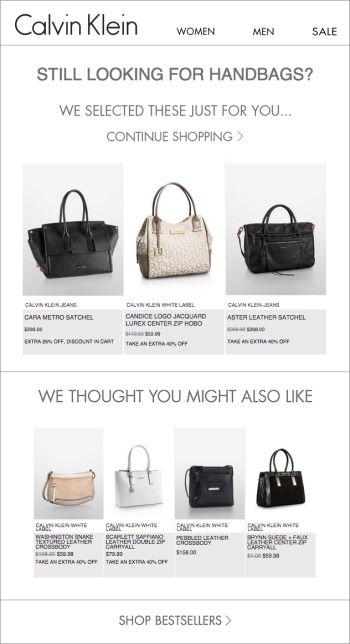 Calvin Klein personalization