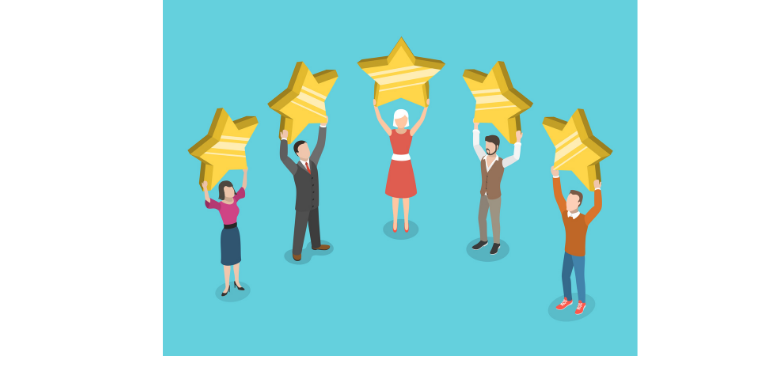 Improve customer experience for five star rating
