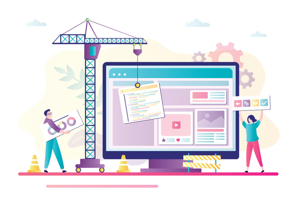 Building landing pages to improve customer experience